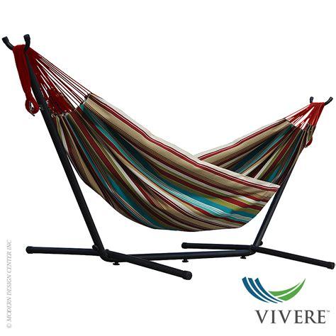 hammock with stand cotton hammock with stand combo vivere