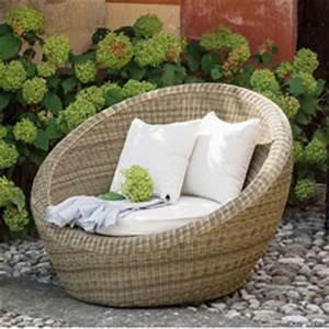 Fauteuil De Jardin Rond : fauteuil de jardin rond table banc jardin maison email ~ Teatrodelosmanantiales.com Idées de Décoration