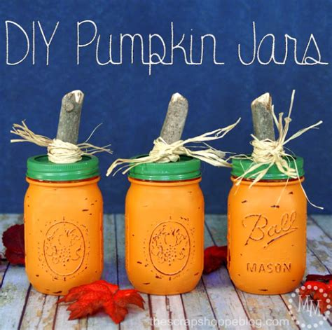 delightful diy mason jar crafts   fall season