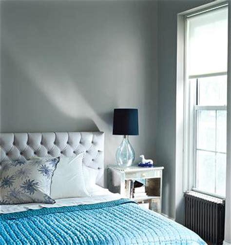 gray  blue bedroom contemporary bedroom domino magazine