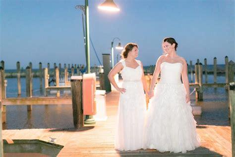 Erin And Michelle Chesapeake Beach Resort And Spa Wedding
