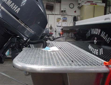 Surf Boat Swim Platform by Motion Marine Before And After