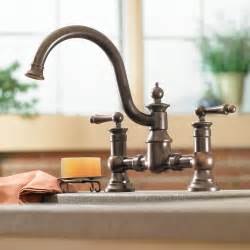 moen kitchen faucets moen s713wr waterhill two handle high arc kitchen faucet wrought iron touch on kitchen sink