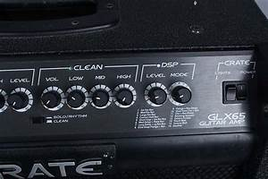 Crate Glx65 Combo Electric Guitar Amp Amplifier W