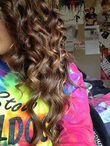 Brown Curly Hair On Tumblr