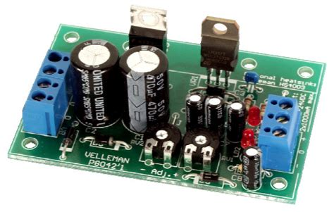Adjustable Symmetric Vdc Power Supply Circuit