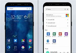 Microsoft Launcher is very popular with Android users