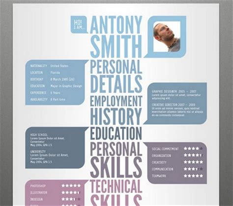 Amazing Cv Templates by Creative Resume Templates