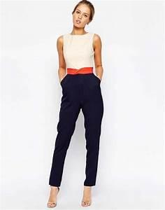 Combinaison Pantalon Femme Habillée : la combinaison la pi ce qui rend chic en un instant ~ Carolinahurricanesstore.com Idées de Décoration