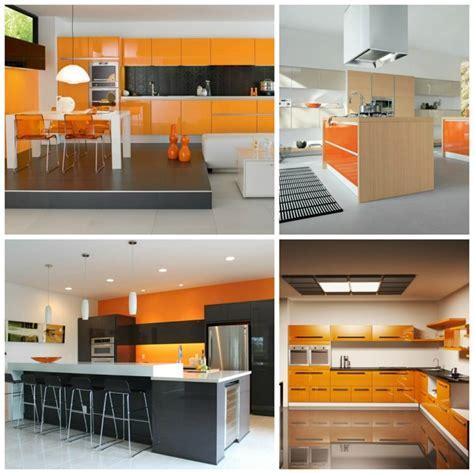 cuisine orange cuisine orange idées et astuces de déco
