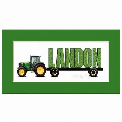 Deere Tractor John Clipart Clip Border Landon