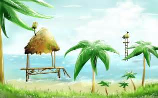themed rooms 卡通风景图片