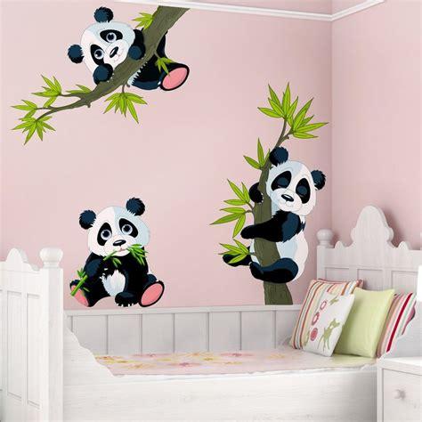 Wandtattoo Kinderzimmer Kaufen by Bilderwelten Wandtattoo Kinderzimmer 187 Pandab 228 Ren Set