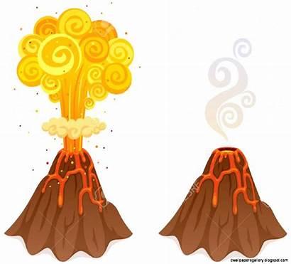 Volcano Clipart Cliparts Vector Illustrations Royalty