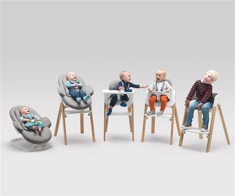 chaise stokke steps from birth through childhood versatile stokke steps baby