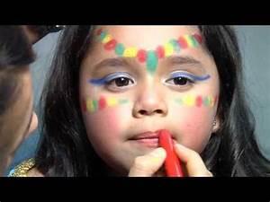 Maquillage Enfant Facile : maquillage des enfants inde youtube ~ Melissatoandfro.com Idées de Décoration