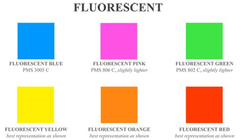 fluorescent l color chart image gallery neon pink color chart