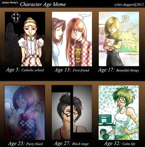 Age Meme - character age meme by dunalonghorn on deviantart