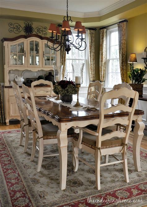 Country Dining Room Sets by Painted Dining Room Chairs On Table And Chairs