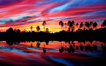 Sunset Reflection Wallpapers Backgrounds Trends