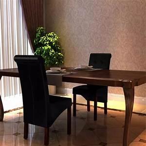 Stühle Esszimmer Günstig : esszimmer st hle klassik 2 stk schwarz g nstig kaufen ~ Markanthonyermac.com Haus und Dekorationen