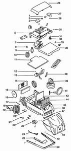 Eureka 8295 Express Canister Vacuum Cleaner Parts