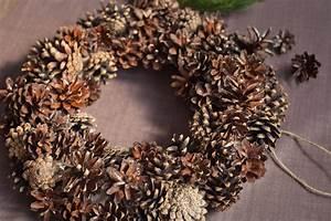 Pine, Cone, Wreath, Diy, Wreath, Christmas, Wreath, Christmas, Decor