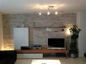 Steinwand Wohnzimmer Tv : fernseh wand erstaunlich die 25 besten ideen zu tv wand forum auf pinterest 73051 haus ideen ~ Bigdaddyawards.com Haus und Dekorationen