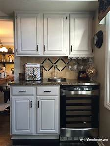 Diy, How, I, Painted, My, Kitchen, Cabinets