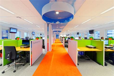 Vibrant Nti Head Office In Leiden, Holland By Liong Lie