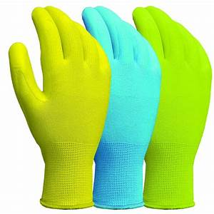 West Chester Economy Latex Coated Large Knit Gloves (6 ...