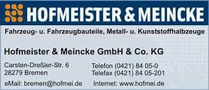 Hofmeister Online Katalog : hofmeister meincke gmbh co kg in bremen branche n fahrzeugbauteile fahrzeugteile f r ~ Watch28wear.com Haus und Dekorationen