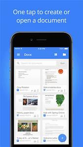 google docs app now lets you add images from your iphone With google docs iphone app free