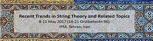 School Of Physics    Recent Trends In String Theory And