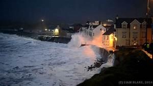 Storm  Lahinch  Co  Clare  Ireland - January 2014