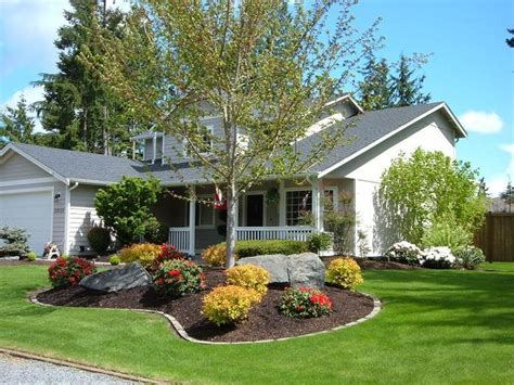 photos of landscaped yards what s the roi on diy gardens front yard landscaping and front yards