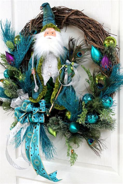 beautiful teal christmas decoration ideas christmas