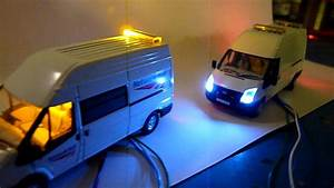 A Couple Of Ford Transit Van U0026 39 S With Yellow And Blue