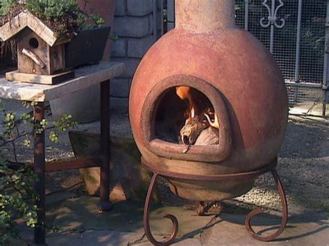 chiminea fire pit pizza oven design  ideas