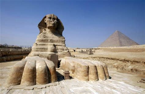 Egypt's Ancient Monuments Face Modern Sprawl