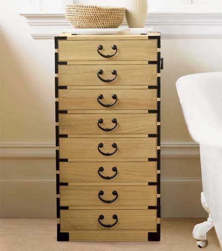 tansu japanese jewelry chests and bathroom chests interior