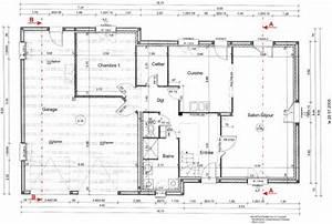 Plans du Rez-de-Chaussée - La maison du Nounours