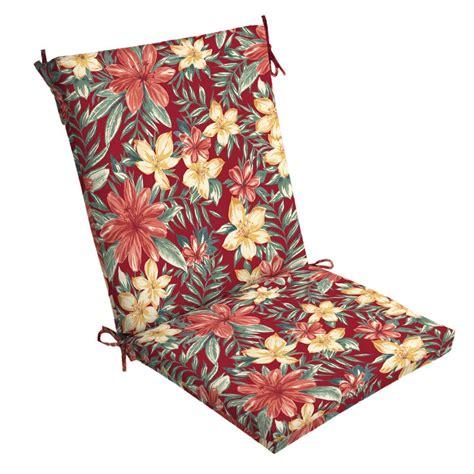 hton bay caroline mid back outdoor dining chair cushion
