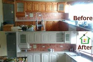 painting kitchen cabinets before and after – salmaun me