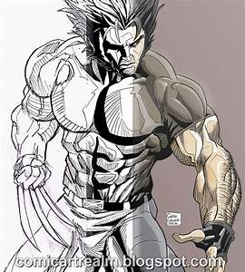 How To Draw Wolverine Using Real Life Reference By