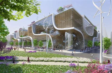 vincent callebaut proposes wooden orchids green shopping