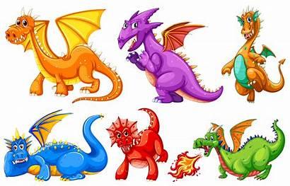 Dragons Vector Dragon Cartoon Castle Clipart Graphics