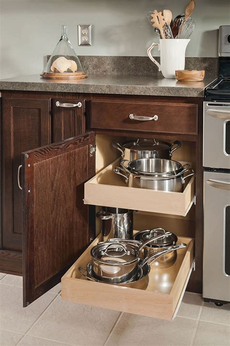 kitchen cabinet roll out trays base roll tray cabinet aristokraft cabinetry 7937