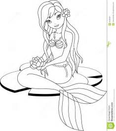 HD wallpapers mermaid swimming coloring page