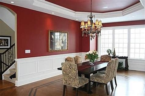 Dining Room Tray Ceiling Ideas - the paint is what we re going for with white moldings